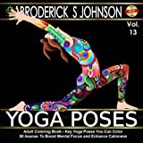 adult coloring book key yoga poses you can color 50 asanas to boost mental - Yoga Anatomy Coloring Book