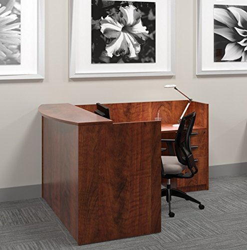 (Offices To Go L Shaped Reception Desk W/Transaction Top 71