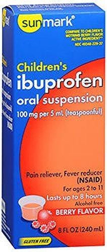 (Children's Ibuprofen 8 fl oz Berry Flavor by Sunmark)