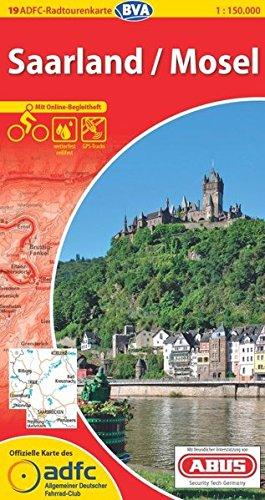 ADFC-Radtourenkarte 19 Saarland /Mosel 1:150.000, reiß- und wetterfest, GPS-Tracks Download und Online-Begleitheft (ADFC-Radtourenkarte 1:150000) Landkarte – Folded Map, 4. April 2013 reiß- und wetterfest BVA BikeMedia GmbH 3870735449 Deutschland