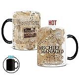 FGTUI Harry Potter Marauders Map Morphing changing Mugs Heat-Sensitive ceramic Mug