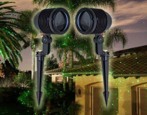 Laser Projector Green Star (BlissLights Spright Green Stars Light Projectors International with 220-240v Power Supply)