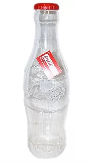 Alcancías oficiales Coca Cola de 30 cm de altura/Caja de Dinero/Botella de