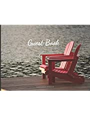 Guest Book: Vacation Rental Guestbook to Sign In, Bed & Breakfast, Lake House, Cabin or Cottage (Muskoka)