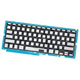 Command Mac Parts US English Keyboard Backlight - For Apple MacBook Pro 15'' Unibody A1286 (2009, 2010, 2011, 2012)
