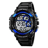 SKMEI 1118 Men Sport Watches Luxury Brand Digital LED Display Watches Fashion Outdoor 50M Waterproof Swimming Wristwatches Male Clock