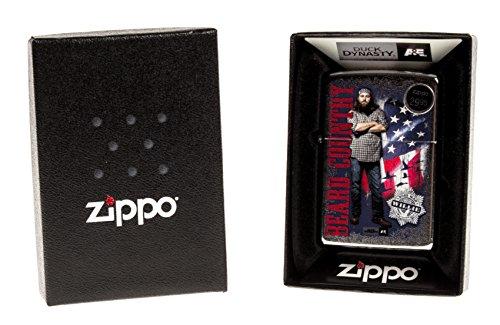 Zippo 207 CI016922 Duck Dynasty Willie Beard Country Lighter by Zippo