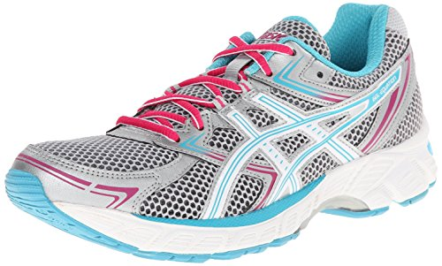 ASICS Women's GEL-Equation 7 Lightning/Peacock Blue/Cabernet Sneaker 6 B - Medium