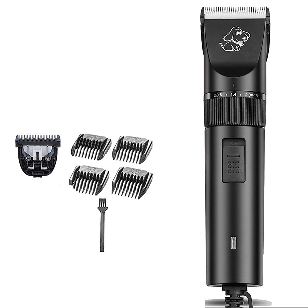 Rechargeable Detachable Blade Clipper, Professional Animal Dog Grooming Brushless Motor Clipper Pet Dog Kit
