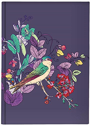 Pierre Belvedere Large Hardcover Notebook with Printed Padded Cover, Up a Tree (7706210)