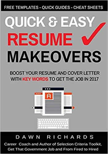 Quick & Easy Resume Makeovers: Boost your Resume and Cover Letter ...