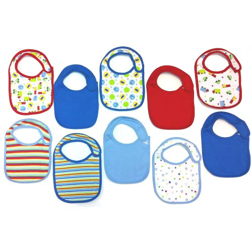 Koala Baby 10 Pack Bibs Transportation product image