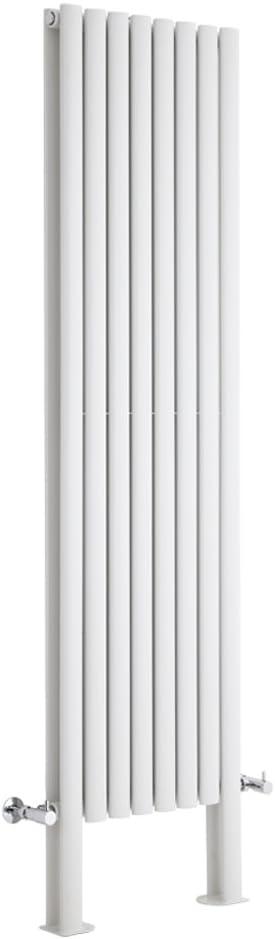 Radiateur Design Vertical Milano Hudson Reed Vitality 160 x 23,6cm Anthracite