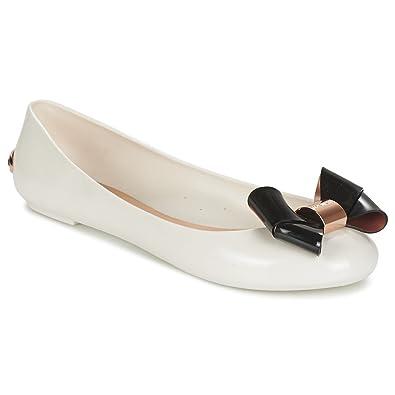 01f861c0fc3007 Ted Baker Womens Cream Black Faiyte Pumps  Amazon.co.uk  Shoes   Bags