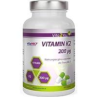 Vita2You La vitamine K2 - 200µg - 180 Capsules - ménaquinone naturel MK-7 - Premium Quality