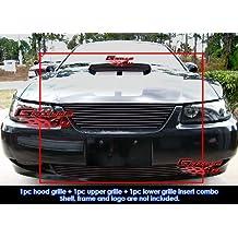 1999-2004 Ford Mustang GT V8 Black Billet Grille Grill Combo Insert #F87884H