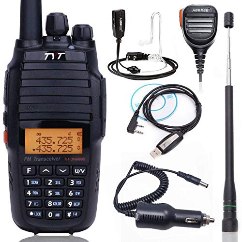 - Upgrade Version TYT TH-UV8000D 10Watts High Power Cross Band Repeater 3600mAh VHF UHF Dual Band Amateur Two Way Radio