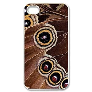 Custom Colorful Case for Iphone 4,4S, Butterfly Cover Case - HL-R667412