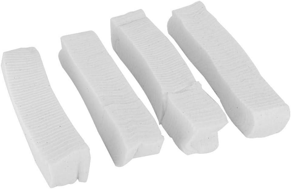 Taidda Natural Organic Cotton Rolls, 180 Piezas de algodón Natural ...