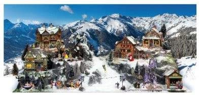 Socle village de noel modele piste de ski xxl Myvillage