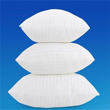 MF 35/40/45/50/55/60 cm blanco suave PP algodón cojín Core ...