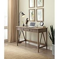 Linon Denzel Rustic Grey Desk