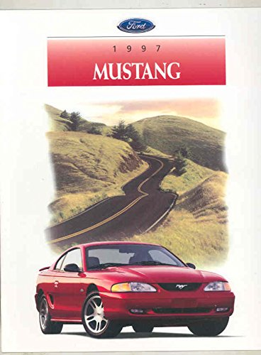 Ford Brochure - 1997 Ford Mustang & GT Brochure
