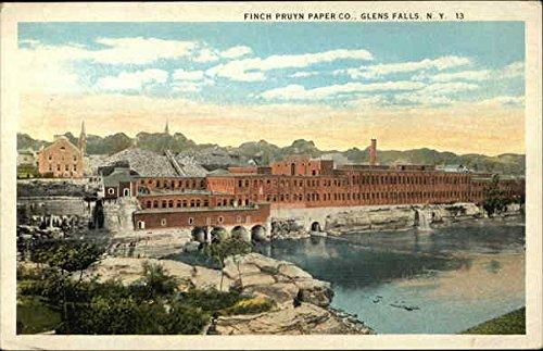 Finch Pruyn Paper Company Glens Falls, New York Original Vintage Postcard