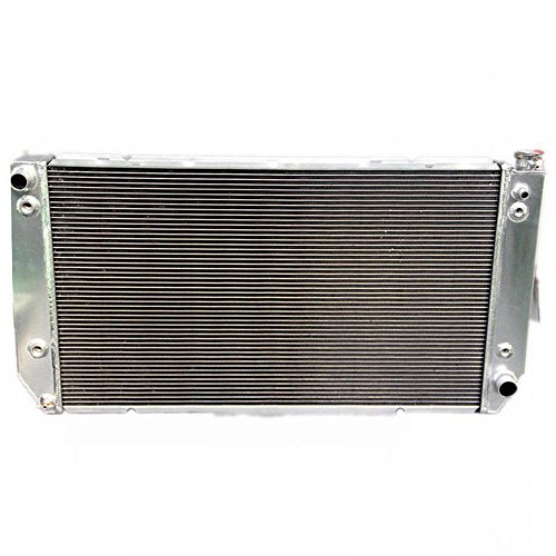 OzCoolingParts 94-00 Chevy Radiator, 55mm 3 Row Core Aluminum Radiator for 1994-2000 Chevrolet C/K Series Pickup C2500 C3500 K2500 K3500, 1994-1999 Chevy Suburban 7.4L V8 Engine