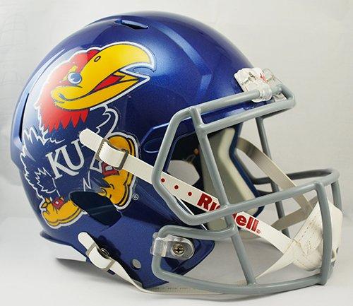 Kansas Jayhawks Helmet - 9