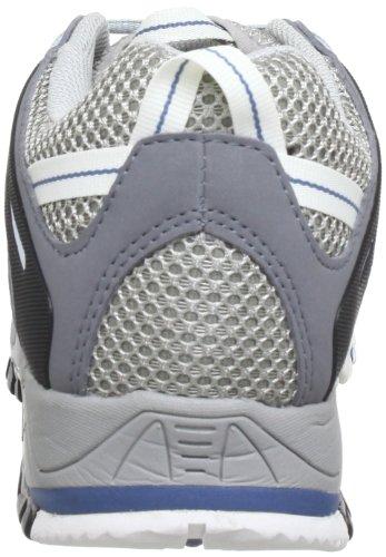 Dachstein T11 Wmn - Zapatos de senderismo de material sintético mujer gris - Grau (Hellgrau/Blau 1125)