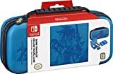 Nintendo Switch Game Traveler Deluxe Travel Case- Zelda Breath of the Wild – Link - Blue