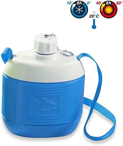 Borraccia Bottiglia Contenitore termico acqua Spring tracolla Plastime 600ml