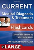 img - for CURRENT Medical Diagnosis and Treatment Flashcards (LANGE CURRENT Series) book / textbook / text book