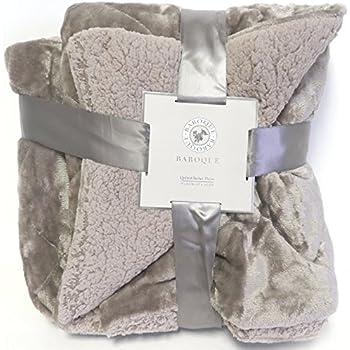 Amazon Com Northpoint Baroque Velvet Plush Blanket Full