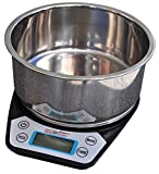 DIGIWEIGH Stainless Bowl with 0.01G Accuracy