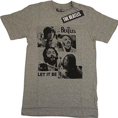 The Beatles - Let It Be - Offizielles Herren T-Shirt