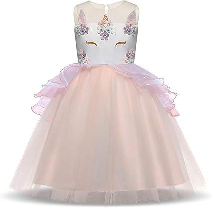 Fleur Fille Princesse Robe Enfants Mariage Fête demoiselle d/'honneur Pageant vacances Robes