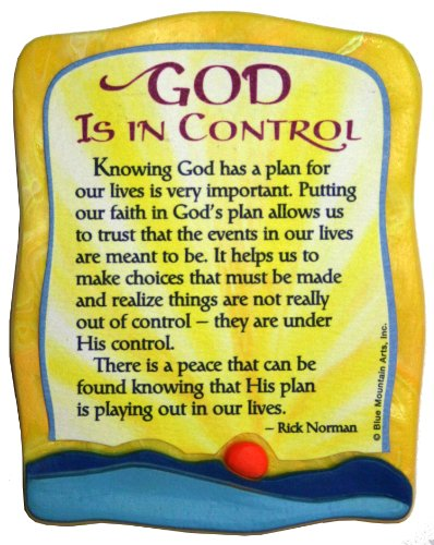 Sculpted Magnet: God is in Control, 3.0