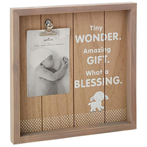 Hallmark Tiny Blessing Lamb Picture Frame, 4x6 Picture ()