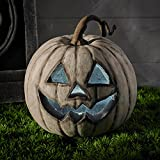 White LED Battery Operated Halloween Pumpkin Light Decoration