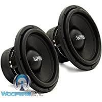Pair of SA-12 D4 REV.3- Sundown Audio 12 750W Dual 4-Ohm SA Series Subwoofer SA12V3D4
