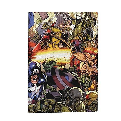 Marvel comics passport holder travel cover for kids handmade case for mens (Folder Marvel Comics)