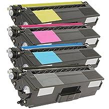 SaveOnMany ® 1 Set of 4 Brother TN-315 TN315 BK/C/M/Y (High Yield of TN310 TN-310) New Compatible Toner Cartridge 4 Color Combo Pack For Brother HL-4150CDN HL-4570CDW HL-4570CDWT MFC-9460CDN MFC-9560CDW MFC-9970CDW (Black, Cyan, Magenta, Yellow)