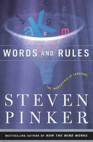 Words And Rules: The Ingredients Of Language (Science Masters Series) for $<!--$8.99-->