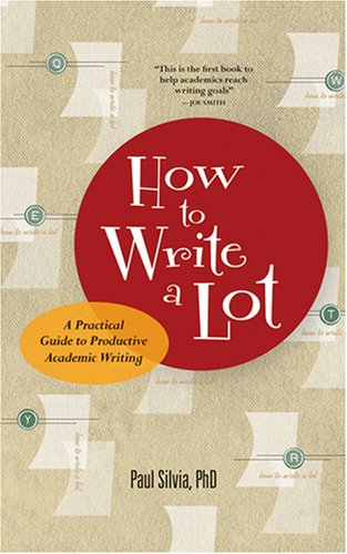 how to write a lot a practical guide to productive academic 読書