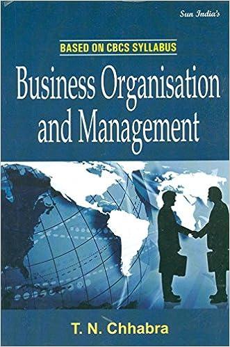 tn chabras business organisation andmanagement in