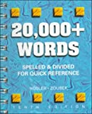 20,000+ Words : Spelled and Divided for Quick Reference, Hosler, Mary M. and Zoubek, Charles E., 0028021592