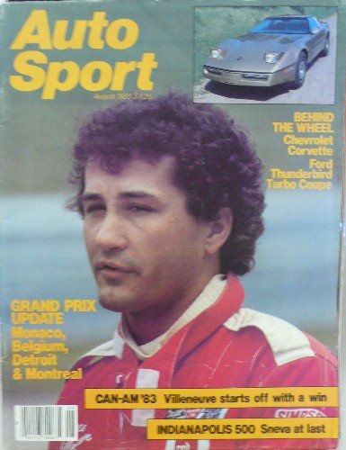 Auto Sport Magazine - Single Issue - August, 1983 - Volume 9, Issue 6