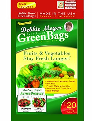 Debbie Meyer Green Bags, 20-Pack from Resource Partners Enterprises LLC